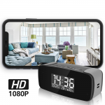 HIDDEN CAMERA MINI CLOCK | HD 1080P COLOR | WIFI LIVE VIEW | NIGHT VISION | MOTION ACTIVATED