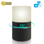 HIDDEN CAMERA MOOD LAMP   HD 1080P COLOR   WIFI LIVE VIEW   NIGHT VISION   MOTION ACTIVATED