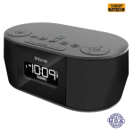 HIDDEN CAMERA CLOCK RADIO | HD 1080P | LOW LIGHT B/W | BUILT-IN DVR | IPHONE 5/6/7 COMPATIBLE