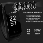 BODY WORN SPY CAMERA | LAW ENFORCEMENT GRADE VIDEO SMARTBAND | FHD 1080P | INVISIBLE CAMERA LENS
