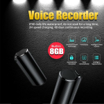 VOICE RECORDER | 500HR BATTERY LIFE | MAGNETIC MOUNT | $129.00