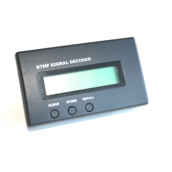 DTMF TONE DECODER | PORTABLE | BATTERY POWER