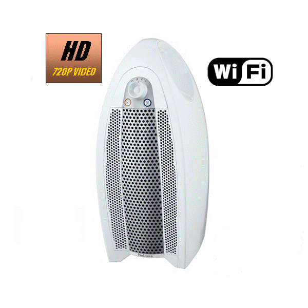 HIDDEN CAMERA AIR PURIFIER | WIFI IP COLOR CAMERA | REMOTE VIEW | NIGHT VISION | BUILT-IN DVR