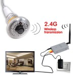 WIRELESS HIDDEN CAMERA | COLOR | 'NO GLOW' NIGHT VISION | 1000' RANGE