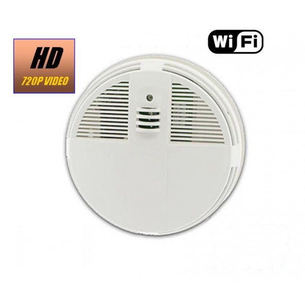 HIDDEN CAMERA SMOKE DETECTOR | WIFI IP COLOR CAMERA | REMOTE VIEW | NIGHT VISION | BUILT-IN DVR