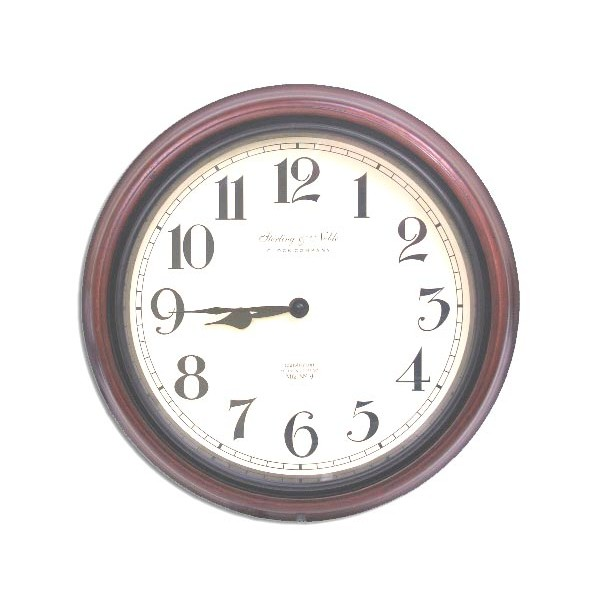 HIDDEN CAMERA WALL CLOCK | HD 1080P | COLOR | BATTERY POWERED | BUILT-IN DVR | $599.00