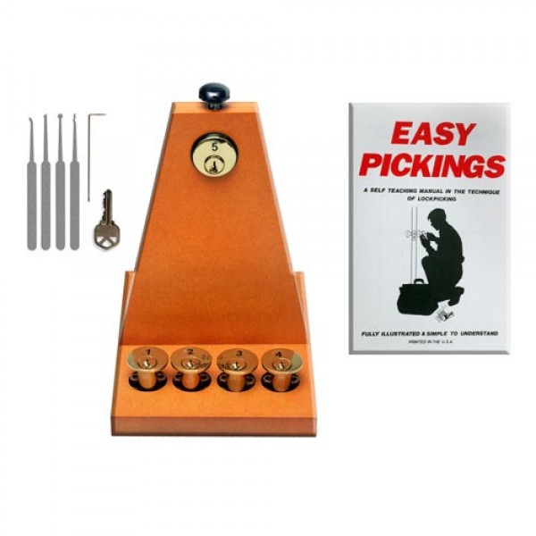 Lock Pick Training Kit Spy Store