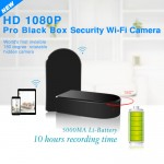 SPY CAMERA DVR | 1080P HD COLOR | 180° FIELD OF VIEW | WIFI GLOBAL REMOTE VIEW | MOTION ACTIVATED