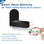 SPY CAMERA DVR   1080P HD COLOR   180° FIELD OF VIEW   WIFI GLOBAL REMOTE VIEW   MOTION ACTIVATED